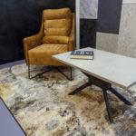 """Konferenční stolek s podnoží """"X"""""""